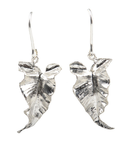 Lily Leaf Drop Earrings