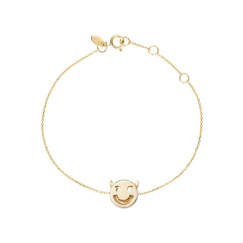 Wicked Yellow Gold Bracelet