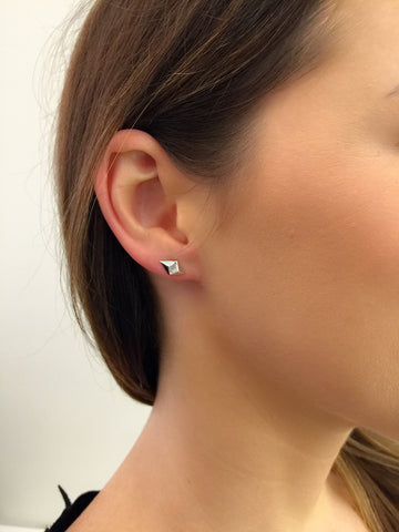 Billy Diamond Earring 14K WG