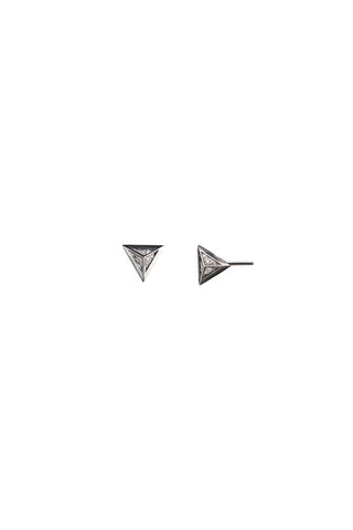 Sid Diamond Earring, White Gold (Dark)