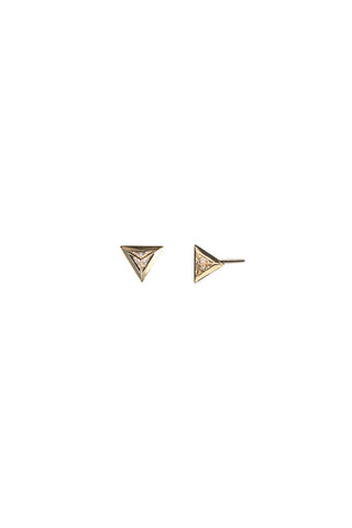 Sid Diamond Earring, 18K Gold