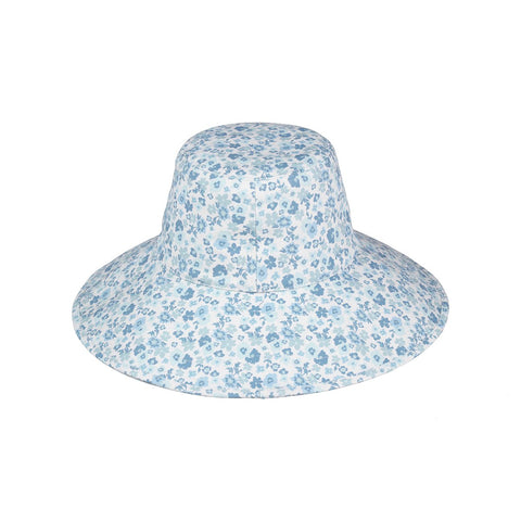 Holiday Bucket Hat, Aqua Bloom