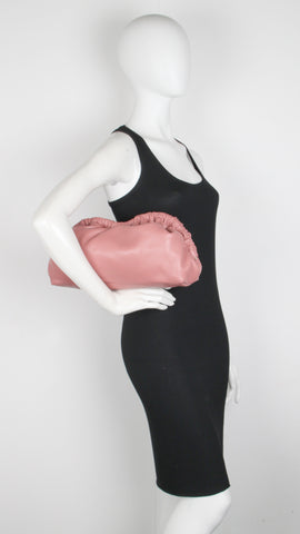 Cloud Clutch Lambskin, Blush