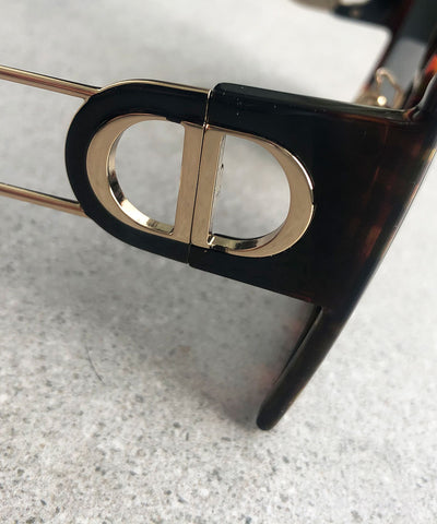 Dior 30Montaigne Sunglasses, Havana