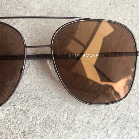 Fendi Roma Amor Square Aviator