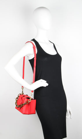 Daria Bucket Bag, Poppy