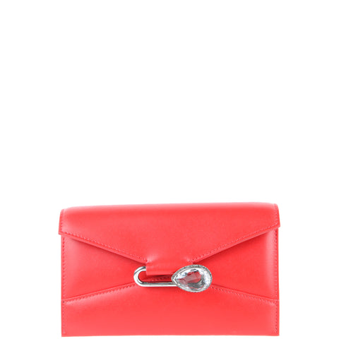 Pin Shoulder Bag Small, Lust Red
