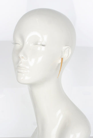 Jett Earrings, Gold