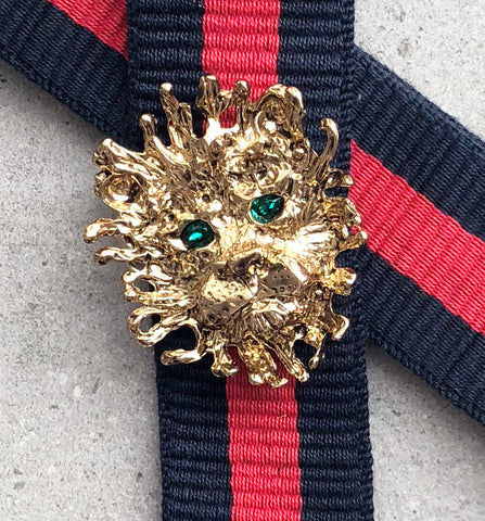 Strap 40 Lion Gold/Green, Blue/Red