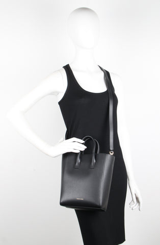 Tote Bag Mini North South Pebble, Black
