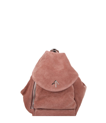 Fernweh Backpack Suede, Camel Rose