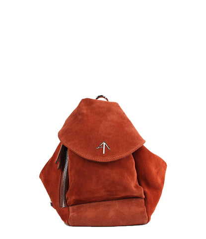 Fernweh Backpack Suede, Redbole