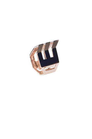Triad Ring, Rose Gold