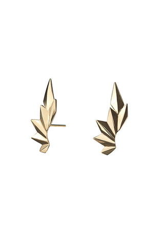 Wing Earring, HP Gold