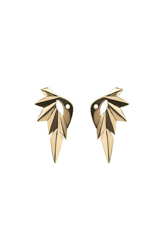 Wing Reverse Earring, Gold