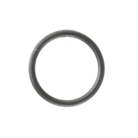 Mono Circle Earring, Oxidized Silver
