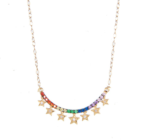 Starry Rainbow Necklace