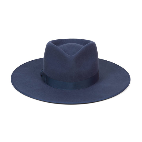 Rancher Wool Hat, Navy
