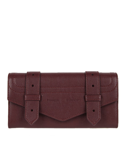 PS1 Continental Flap Wallet, Cordovan