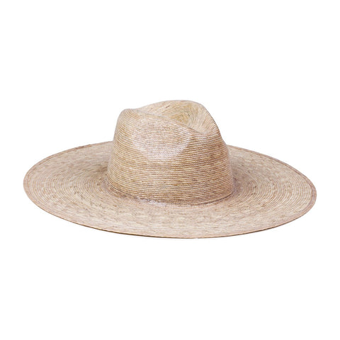 Palma Wide Fedora, Natural