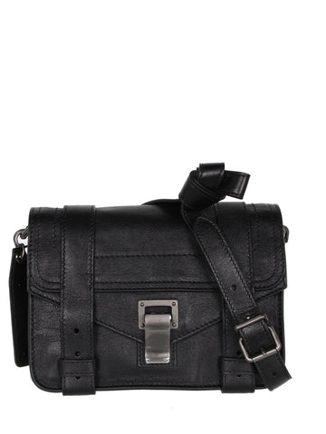 PS1 Mini Crossbody Lux, Black