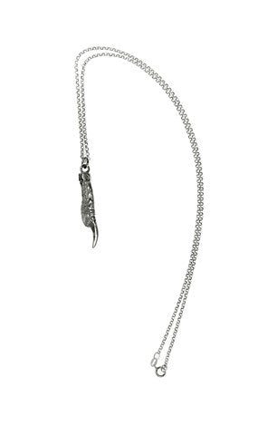 Pukeho Claw Small Necklace, Silver