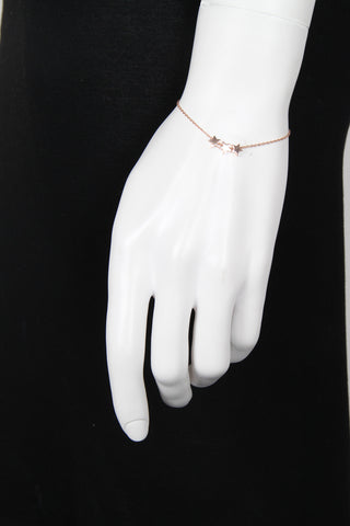 Star Bracelet, Rose Gold