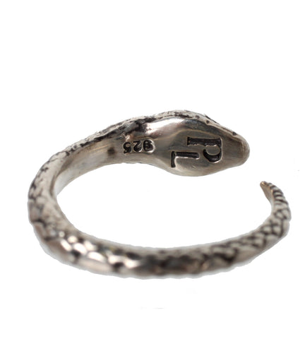 Serpent Ring, Silver