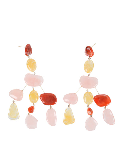 Sloane Earrings, Citrus