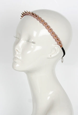 Spike Headband Rose