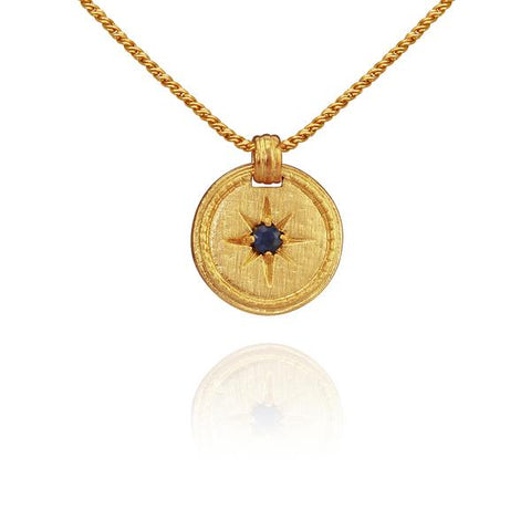 Stella Necklace, Gold