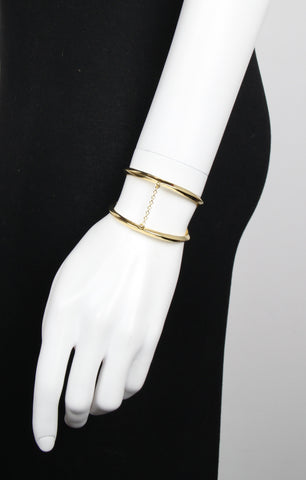 Suspension Cuff, Gold