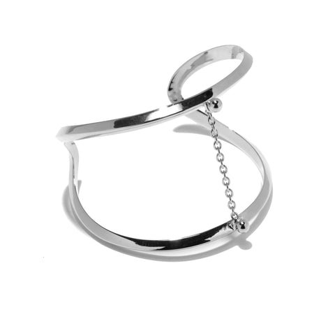 Suspension Cuff, Silver
