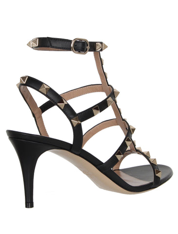 Gladiator 70 Heels Vitello, Black