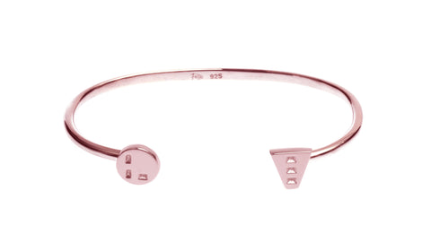Tough Love Cuff, Rose Gold