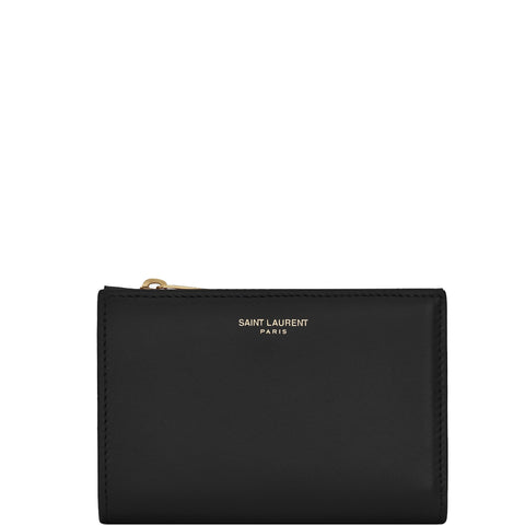 Fragments Bi-Fold Wallet, Black/Gold