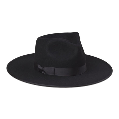 Rancher Wool Hat, Black
