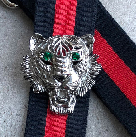 Strap 40 Tiger Silver/Green, Red/Blue