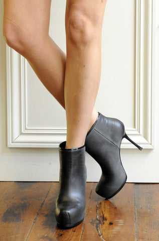 Tribtoo 80 Ankle Boot, Black