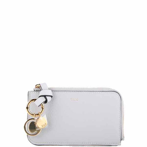Alphabet Zip Card Holder, Cloud