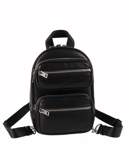 Attica Backpack Lamb, Black