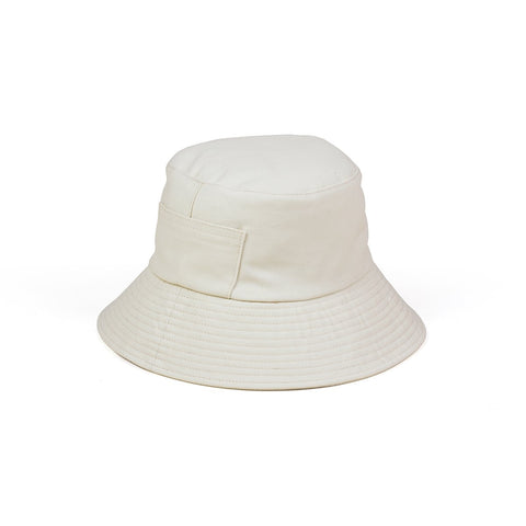 Wave Bucket Hat, Beige
