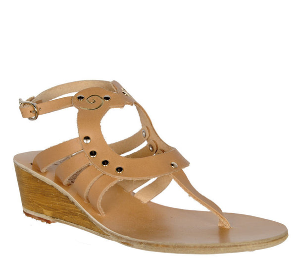 Amalthia Wedge, Natural by Ancient Greek Sandals Cultstatus
