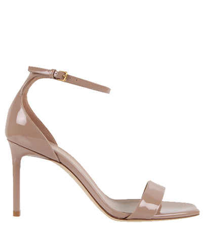 Amber 85 Sandal Patent, Nude