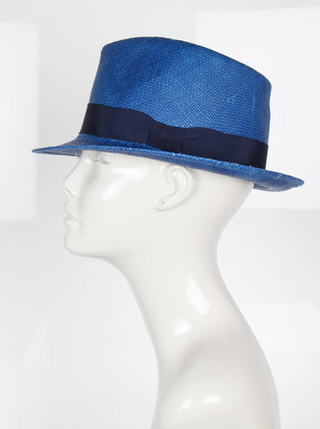 Zeus Hat, Blue/Navy