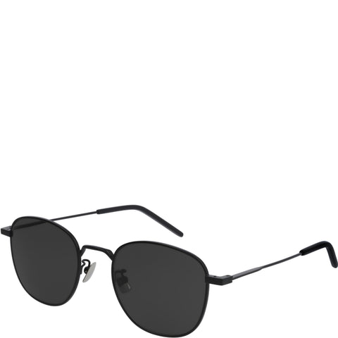 YSL New Wave SL299 Sunglasses, Black