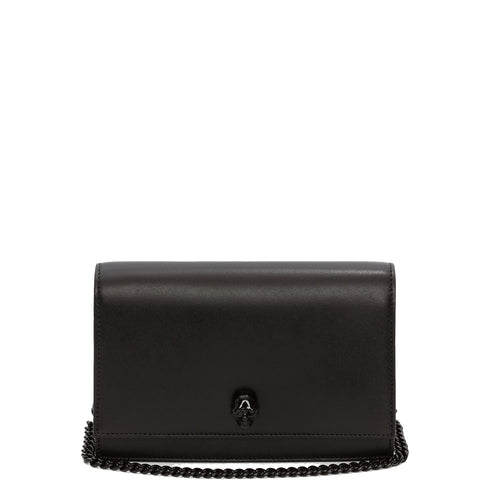 Skull Mini Bag Smooth, Black