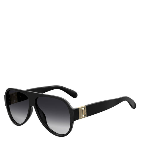 Givenchy Acetate Aviators, Black
