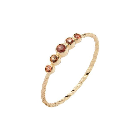 Ally 5 Ring 14K, Yellow Gold