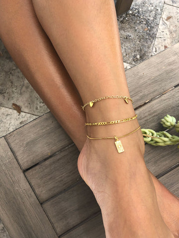 Grecian Anklet, Gold